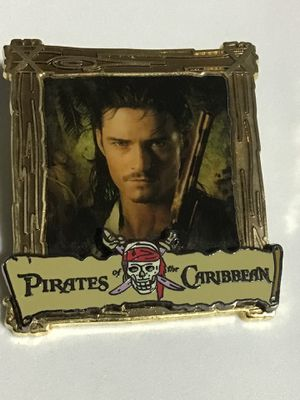 DISNEY 2008 PIRATES OF THE CARIBBEAN GOLD FRAME WILL TURNER for Sale in Orlando, FL
