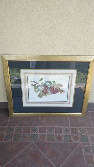 Fruit Prunes Home Decor Picture Frame 31.75 x 26 for Sale in Gardena, CA