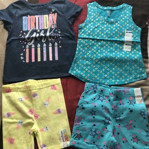 12pcs New Girls Clothes 4T for Sale in Hallandale Beach, FL