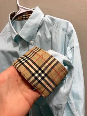 Burberry long sleeve button up for Sale in Cleveland, OH