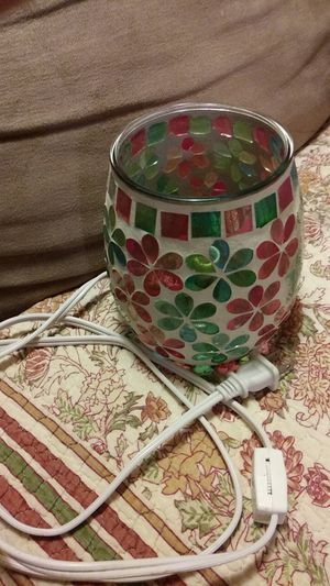 Pretty vase lamp wheel switch on the cord for Sale in Lexington, KY