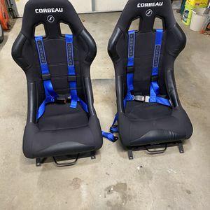 Corbeau Fx1 Racing Seat Black Cloth for Sale in Haddam, CT
