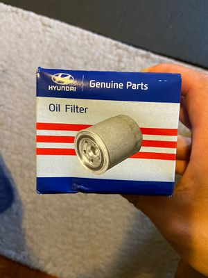 OEM Hyundai/Kia Oil Filter Part #26300 35503 for Sale in Los Angeles, CA
