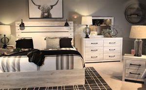 Queen Size Bed Frame with Overhead Lights for Sale in Virginia Beach, VA
