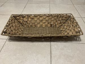 Large wicker basket for Sale in West Palm Beach, FL