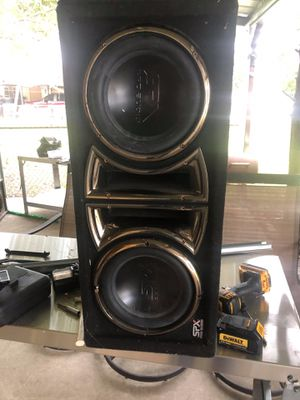 Subwoofers SPX Audio & Kicker for Sale in Mesquite, TX
