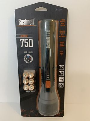 NEW - Bushnell TRKR T750L 750 Lumen Flashlight for Sale in Powell, OH