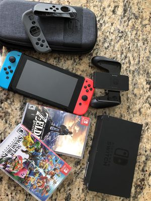 Nintendo Switch Bundle for Sale for Sale in UNIVERSITY PA, MD