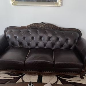 Leather Couches for Sale for Sale in Aurora, IL
