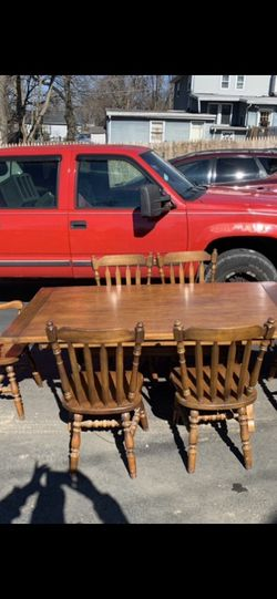 Dining Table With Six Chairs for Sale in Philadelphia,  PA
