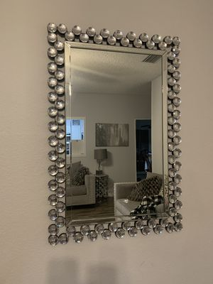 Wall diamond mirror for Sale in Richardson, TX