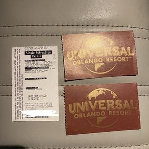 Universal / Islands of adventure Skip Passes for Sale in Fort Lauderdale, FL