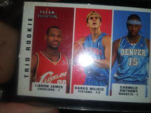 LeBron James Rookie trio card for Sale in Kahoka, MO