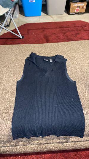 Dark blue sweater vest for Sale in Broomfield, CO