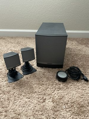 Bose Companion 3 series ll Multimedia speaker system for Sale in Lyons, CO