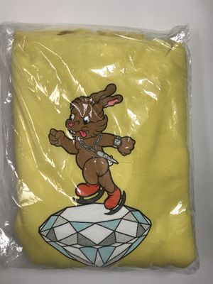 Icy Rabbit Ice Skating Hoodie, Yellow M for Sale in Mesa, AZ