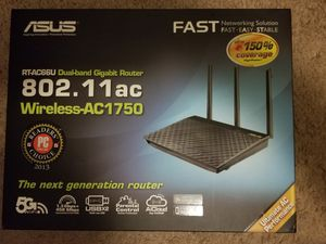 Asus dual band wireless router for Sale in Houston, TX