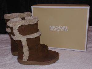 Little girls Michael Kors brown boots for Sale in Chester, VA