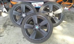 """3 18"""" BMW Rims and Tires for Sale in Chicago, IL"""