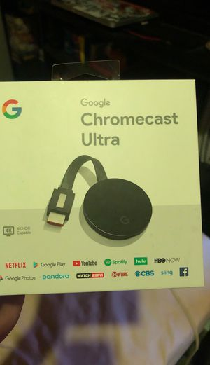 Chromecast Ultra for Sale in Linden, NJ