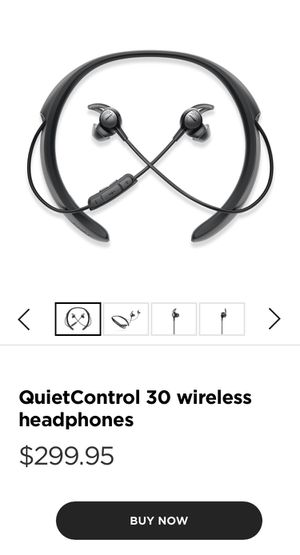 Bose QuietControl 30 Noise Canceling Earbuds for Sale in Salt Lake City, UT