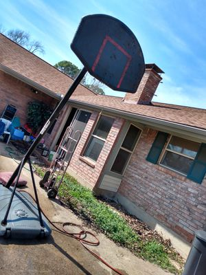 Portable basketball hoop no rim or net for Sale in Irving, TX