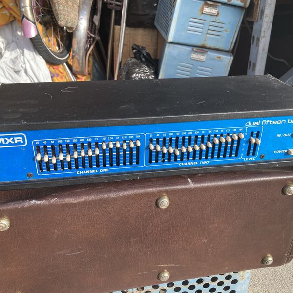 Vintage Mxr Equalizer EQ Great Analog Sound Tested Works