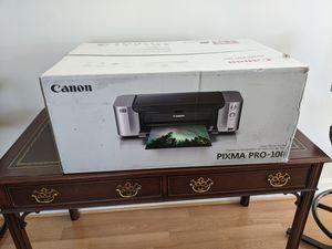 Canon pixma pro 100 printer for Sale in NO POTOMAC, MD