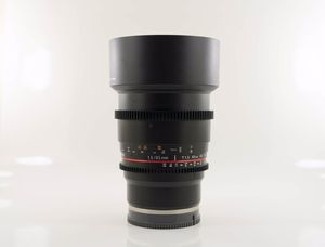 Rokinon 85mm 1.5 Cine Lens FE Mount for Sony A7 cameras. for Sale in Yorba Linda, CA