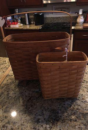 Longaberger baskets for Sale in Hemet, CA