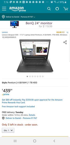 """Lenovo Ideapad 17"""" Laptop for Sale in Pomona, CA"""
