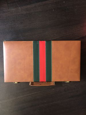 Vintage Gucci print inspired backgammon case for Sale in Los Angeles, CA