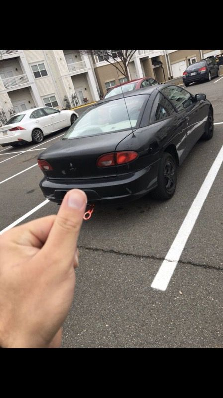 Chevy cavilier 2002 coupe
