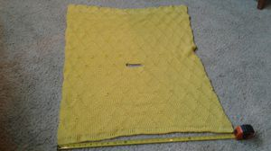 Yellow Crocheted Car Seat Cover/Blanket for Sale in Summerville, SC