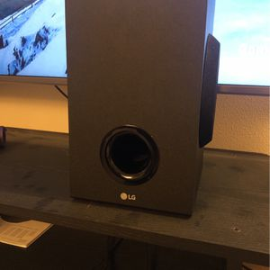 LG Wireless Active Subwoofer for Sale in Monroe, WA