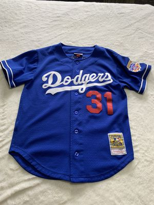Mike Piazza 1997 Authentic Mesh BP Jersey Los Angeles Dodgers for Sale in Chicago Heights, IL