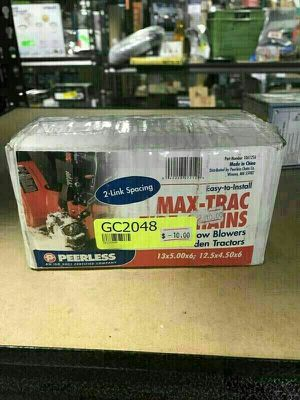 Peerless Max-Trac Tire Chains For Snow Blowers And Garden Tractors - GC2048 for Sale in Garden Grove, CA