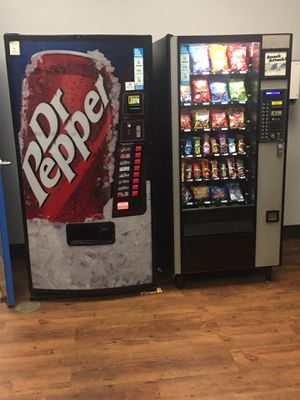 Location with 3 machines 2 Drink 1-Snack for Sale in Fort Worth, TX