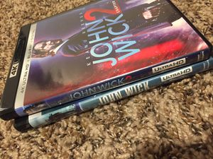 John Wick Chapter 1 & 2 for Sale in Fresno, CA