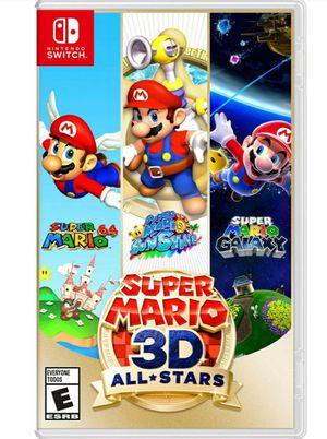 Super mario 3d all stars for Sale in Las Vegas, NV