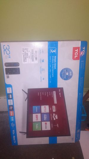 TCL 32in smart TV Roku for Sale in Columbus, OH