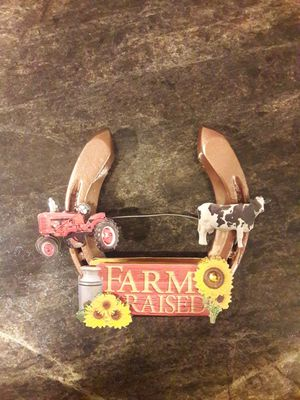 Tractor Farm horseshoe door hanger for Sale in Bardstown, KY
