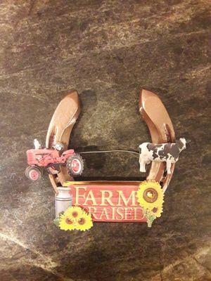 Tractor Farm horseshoe door hanger for Sale in Bardstown, KY