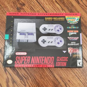 SNES Classic Console for Sale in Dallas, TX