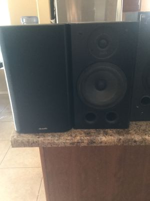 Polk Audio RT5 Pair perfect condition sound amazing for Sale in San Tan Valley, AZ