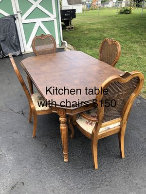Kitchen table with chairs for Sale in Newark, OH