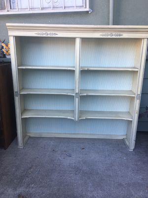 Bookshelves/hutch for dresser top or desk for Sale in West Covina, CA