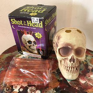 Shot In The Head Halloween Decoration Shot Glass Holder Party Favor for Sale in Golden, CO