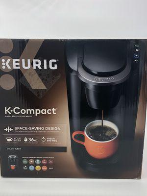 Keurig K-Compact Black 36 OZ Coffee Maker for Sale in Palmdale, CA