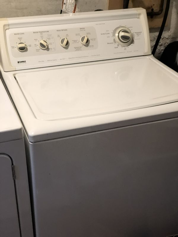 Kenmore Washer & GE gas dryer